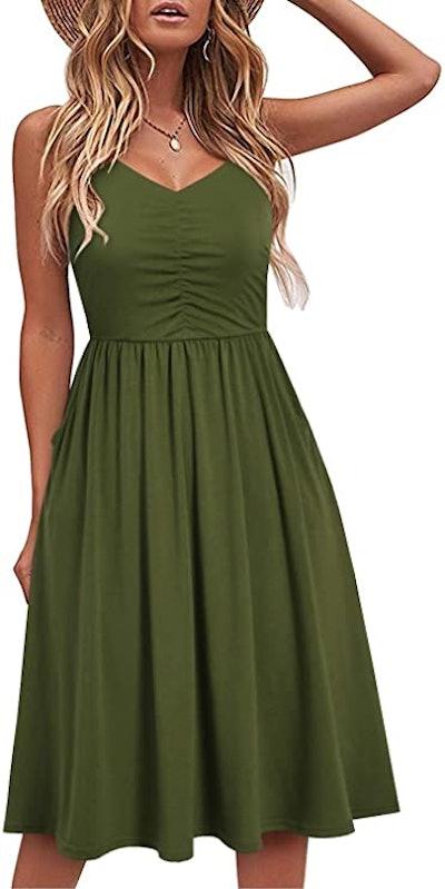 Yathon Sleeveless Cotton Dress