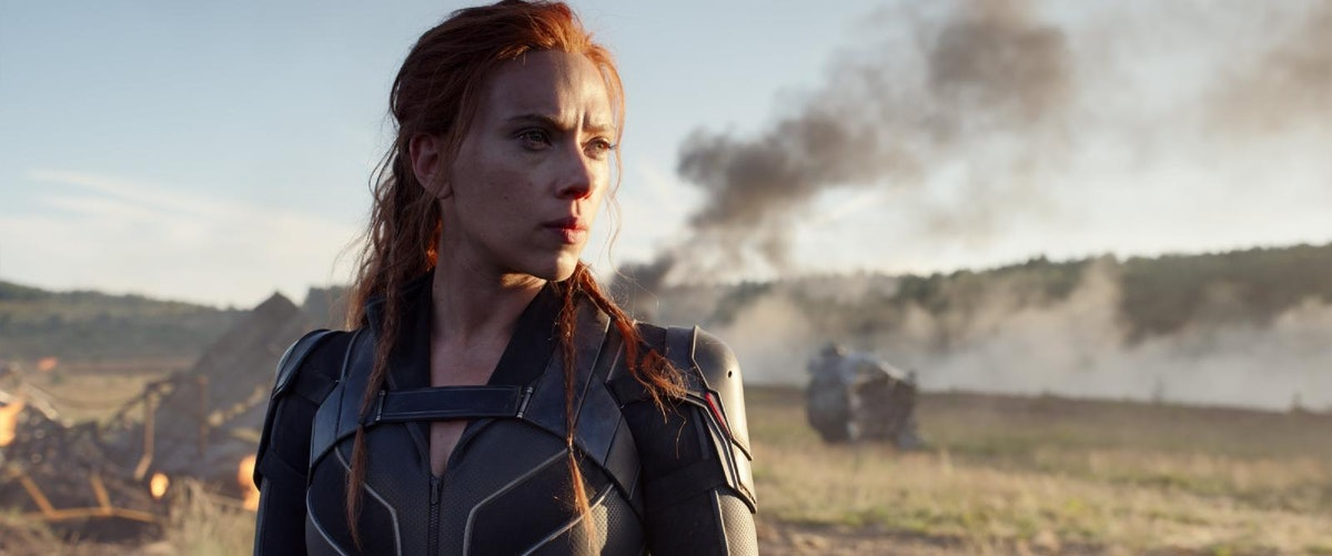 Black Widow from the Marvel movies stands confidently like all her self-assured quotes throughout th...