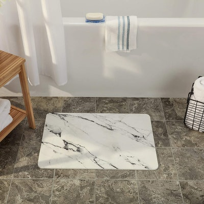 SlipX Solutions Quick-Dry Absorbent Non-Slip Bath Mat