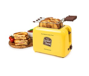 Nostalgia Deluxe Grilled Cheese Sandwich Toaster