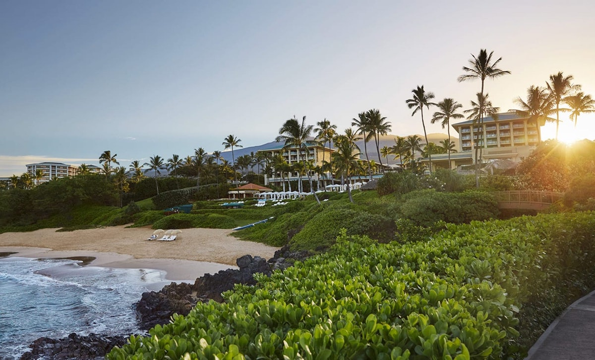 'The White Lotus' was filmed at a Four Seasons resort in Maui, Hawaii.