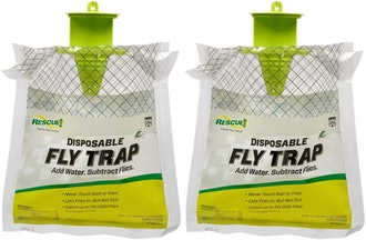 RESCUE! Outdoor Disposable Fly Trap (2 Pack)