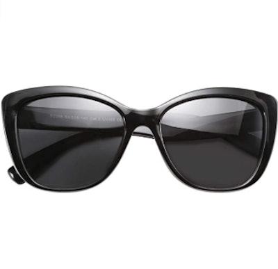 FEISEDY Cat Eye Polarized Sunglasses