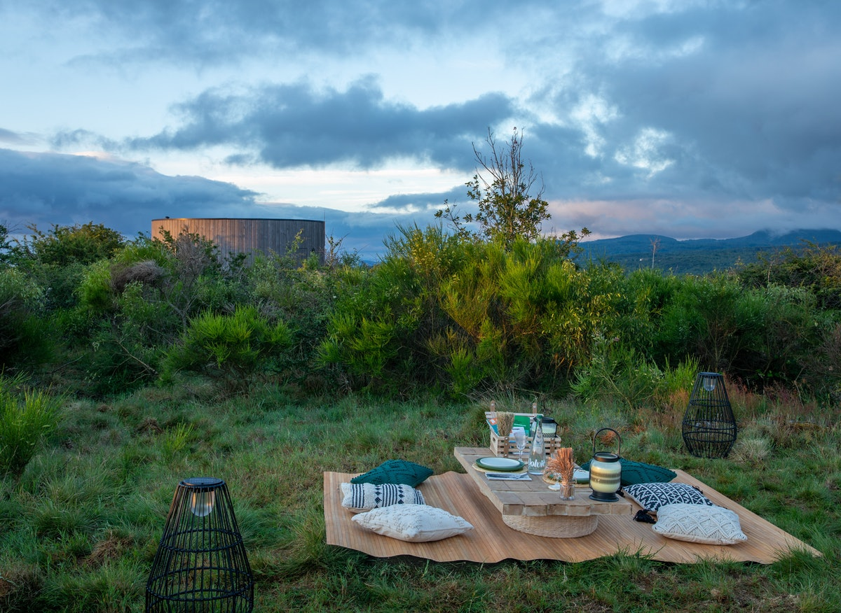 You can book an Airbnb at the heart of a volcano in France.