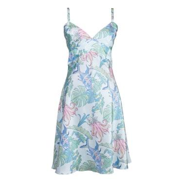 The Fish Silk Slip Dress