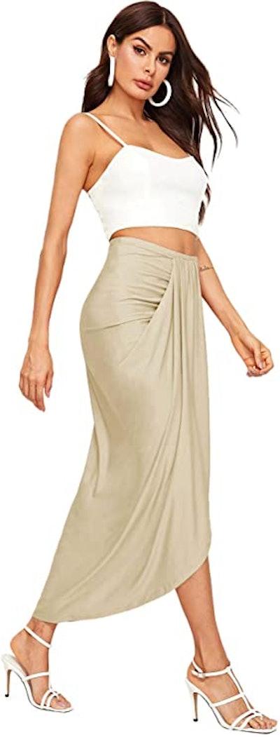 SheIn High-Waist Maxi Skirt