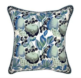 """Blue Eden 19"""" Pillow"""