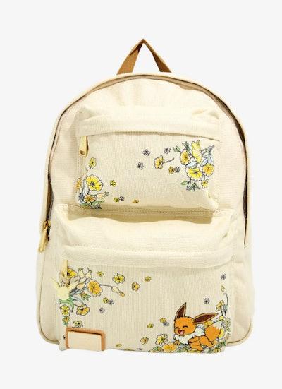 Pokémon Eevee Floral Built-Up Backpack