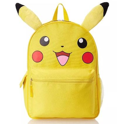 Pokemon Pikachu 3D 16 Inch Backpack