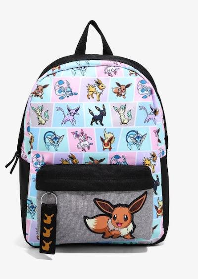 Pokémon Eeveelutions Grid Backpack