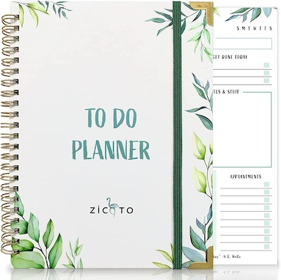 ZICOTO To Do List Notebook