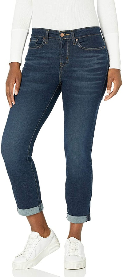 Signature by Levi Strauss & Co. Gold Label Mid-Rise Boyfriend Jeans