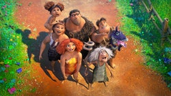 Emma Stone lends her voice to the film, 'The Croods 2: A New Age, streaming on Hulu.