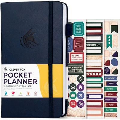 Clever Fox Pocket Planner