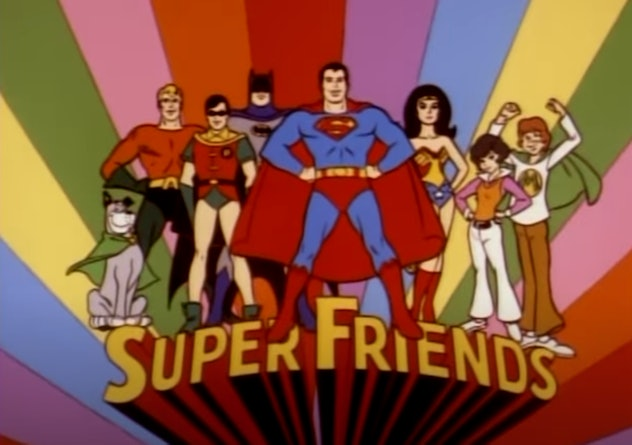 'Super Friends' first aired on TV in 1973.