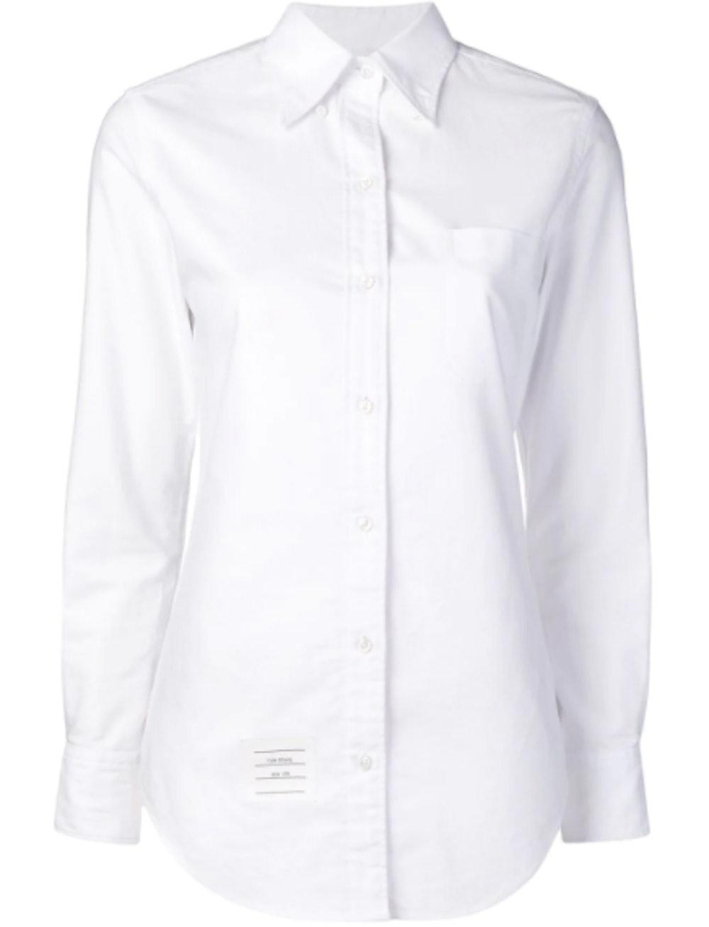 RWB Tab Long-Sleeve Oxford Shirt