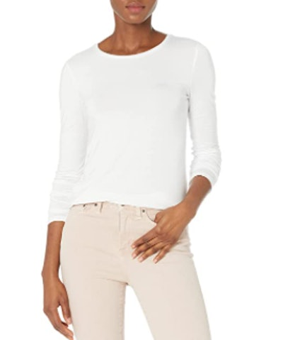 Daily Ritual Standard Jersey Long-Sleeve Crewneck Shirt