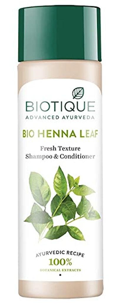 Biotique Bio Henna Leaf Fresh Texture Shampoo & Conditioner (120 Grams)