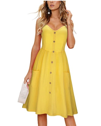 KILIG Button Down Sundress with Pockets