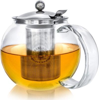 Teabloom Stovetop Kettle and Tea Steeper