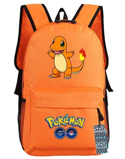 Orange Charmander Backpack