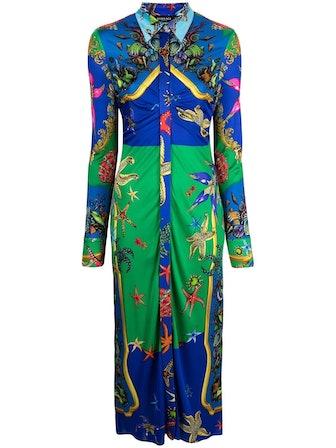 Trésor de la Mer-Print Dress