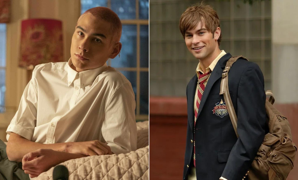 Aki and Nate share similarities in the 'Gossip Girl' series.