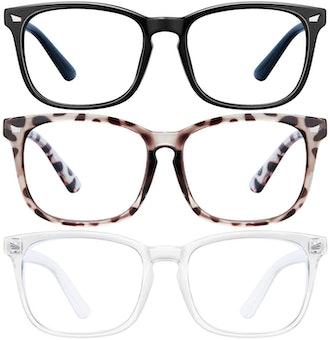 Blue Light Blocking Glasses (3 Pack)