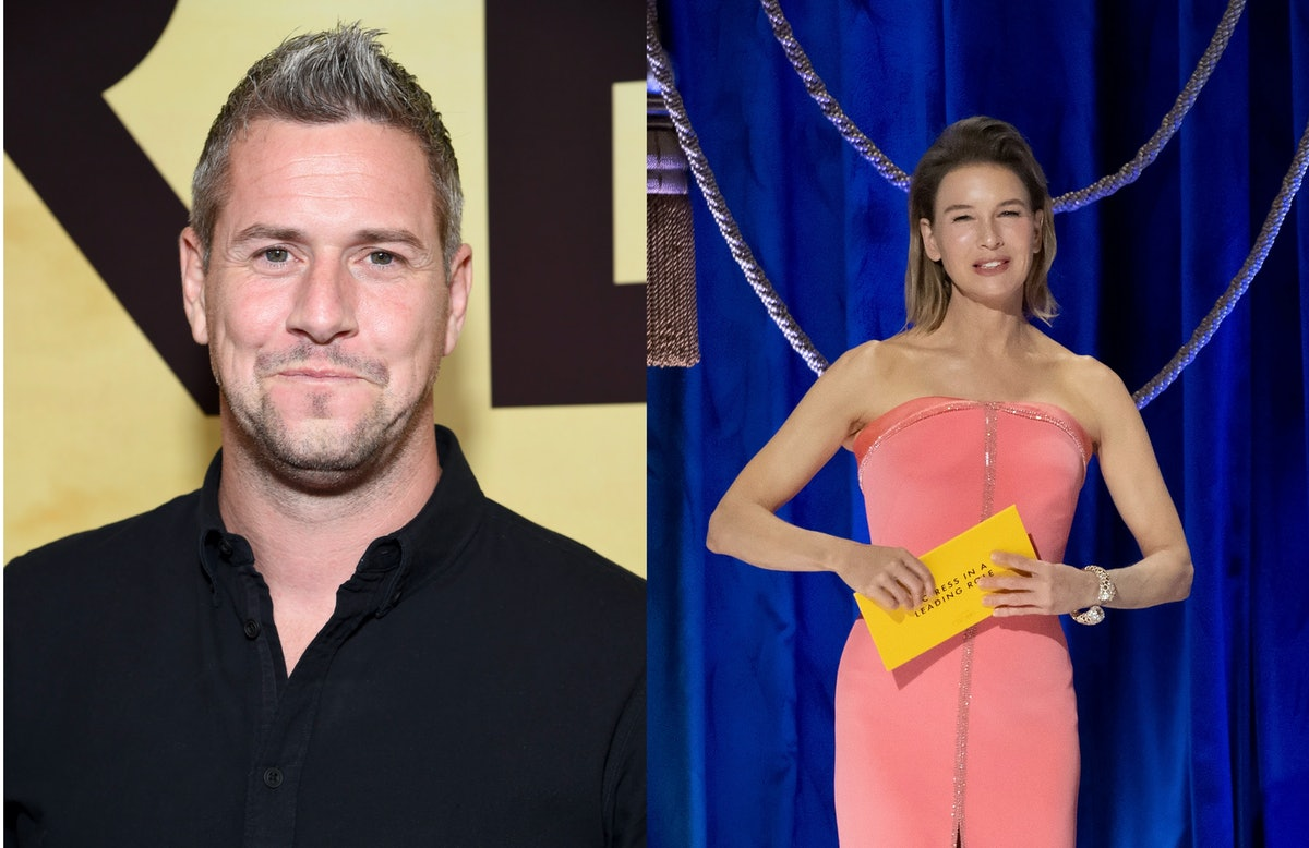 photo collage of Ant Anstead and Renee Zellweger