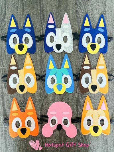 HotSpotGiftShop Party Pack Puppy Felt Masks