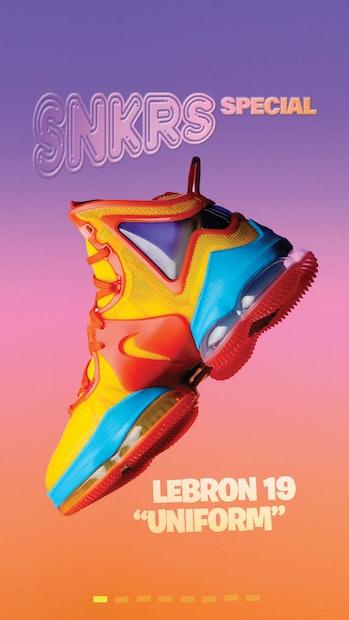 Space Jam Fornite Nike Lebron 19 Uniform
