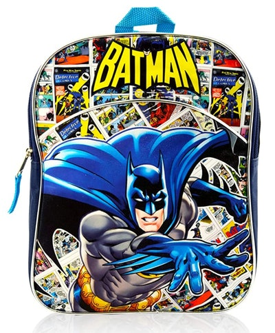 Batman Mini Backpack Bundle