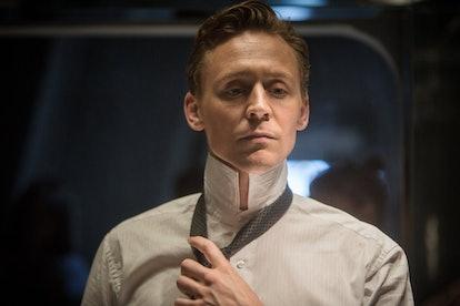 Tom Hiddleston stars in 'High Rise.' Photo via High Rise Facebook