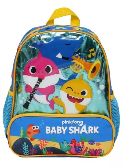 "Baby Shark Sea Music Kids' 12"" Backpack"