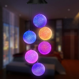 Topspeeder Color Changing Wind Chime