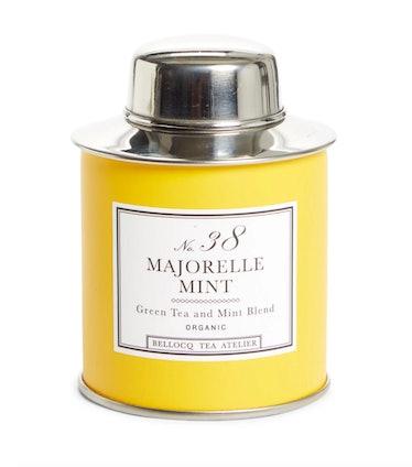 No.38 Majorelle Mint Green Tea & Mint Blend Organic Tea Traveler Caddy