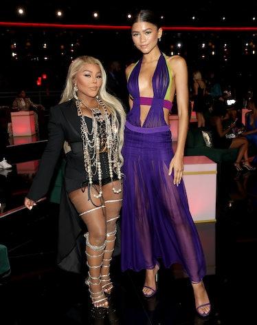 Zendaya with Lil' Kim