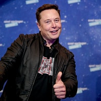 Elon Musk is going to space, but not on a SpaceX ship