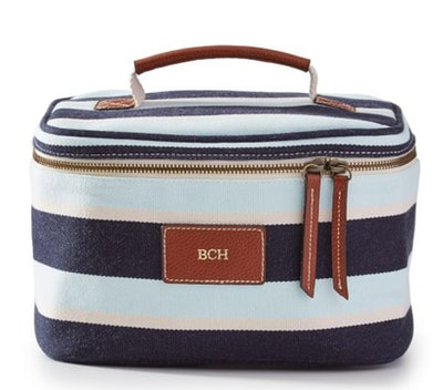 Sonoma Insulated Lunch Bag, Blue Stripe