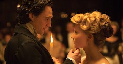 Tom Hiddleston plays Sir Thomas Sharpe in 'Crimson Peak.' Photo via Universal Pictures