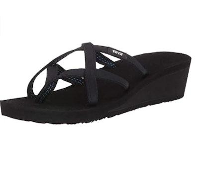 Teva Mush Mandalyn Ola Wedge Flip-Flop Sandals