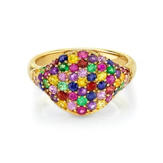 Rainbow Signet Ring