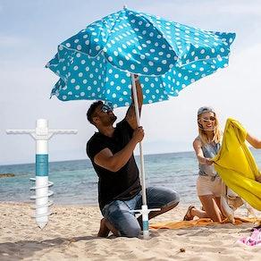 DUUDO Beach Umbrella Sand Anchor