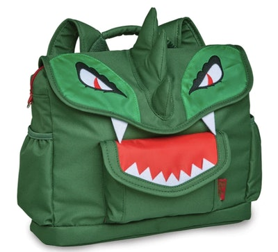 Green Spiked Backpack