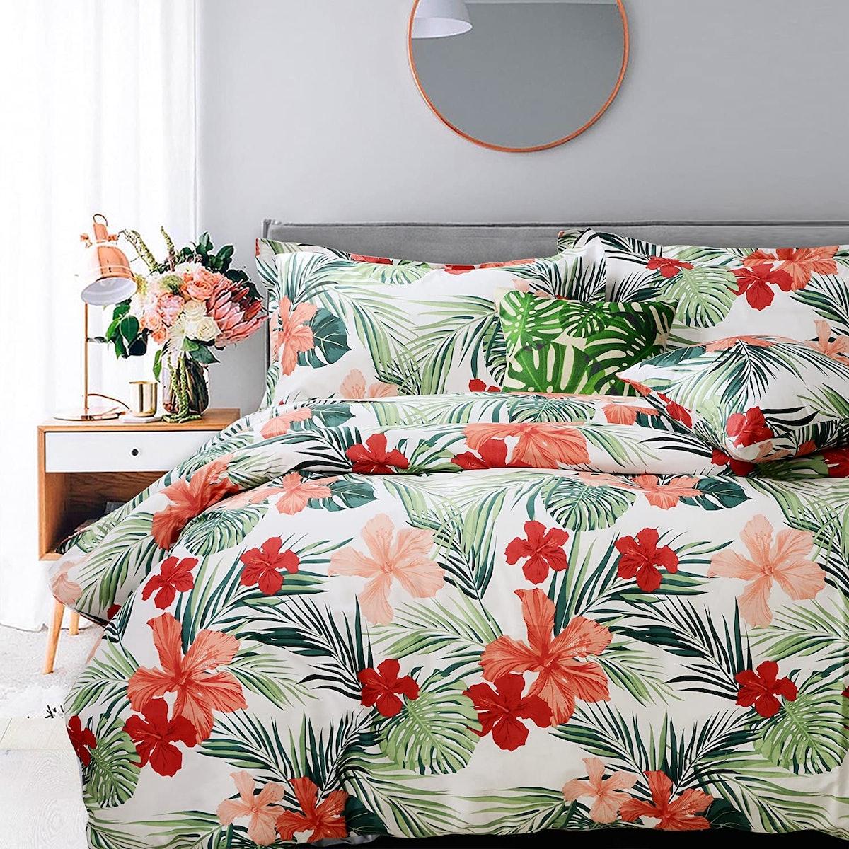 FADFAY Tropical Dorm Bedding (5-Piece)
