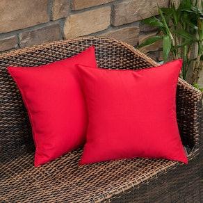 MIULEE Outdoor Waterproof Pillow Covers (Pack of 2)
