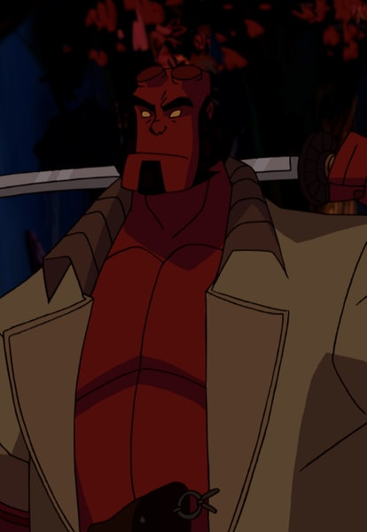 screenshot from hellboy animated