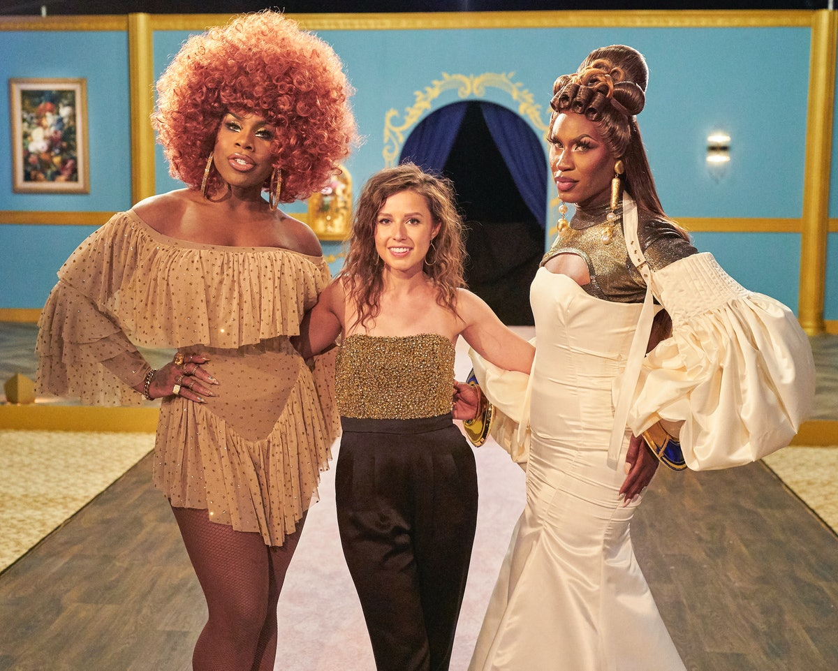Shea Coulee and Monet X Change appeared on a 'Bachelorette' group date.