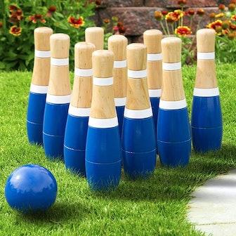 Hey! Play! Backyard Lawn Bowling Game