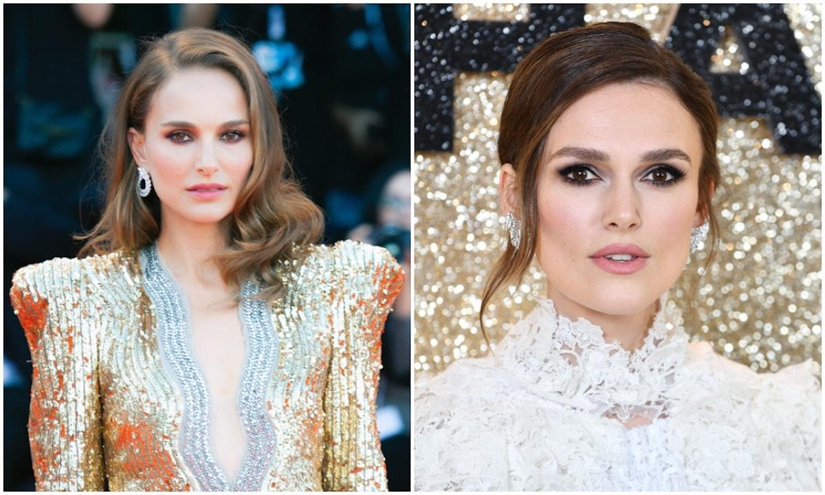 Natalie Portman and Keira Knightly share striking similarities.